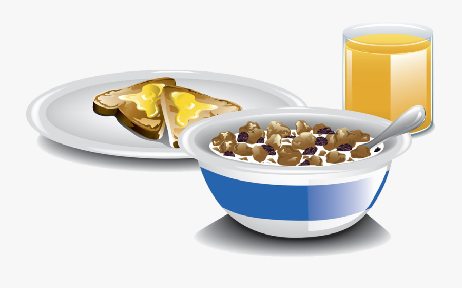 Picture of toast and cereal